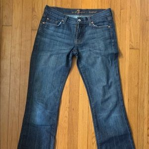 7 for all Mankind ladies jeans